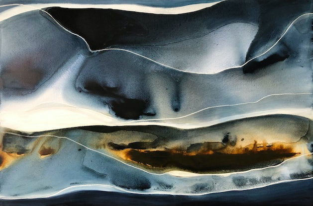 (CreativeWork) Eleusia by Dinah Wakefield. Acrylic Paint. Shop online at Bluethumb.
