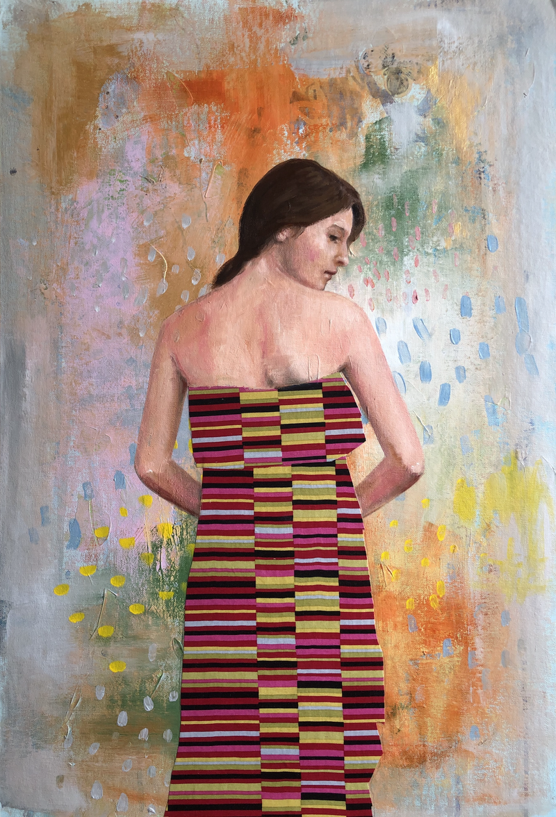 (CreativeWork) Don't look back by Leah Mariani. Mixed Media. Shop online at Bluethumb.