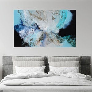 (CreativeWork) Wayward ocean by Sue Dyde. #<Filter:0x00007f3bc5034348>. Shop online at Bluethumb.