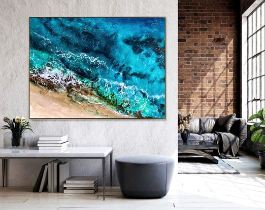 (CreativeWork) CRYSTAL WATERS by Vanessa Mae. Acrylic Paint. Shop online at Bluethumb.