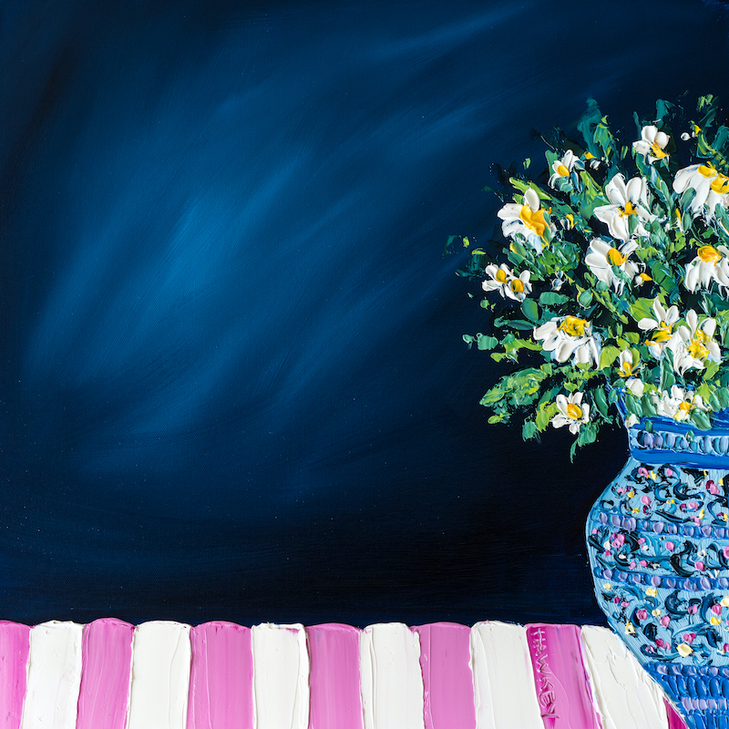 (CreativeWork) Breakfast At Tiffany's 2 by Angela Hawkey. Oil Paint. Shop online at Bluethumb.