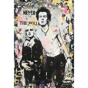 (CreativeWork) Sid & Nancy by Cold Ghost. #<Filter:0x000055cbc18ba708>. Shop online at Bluethumb.