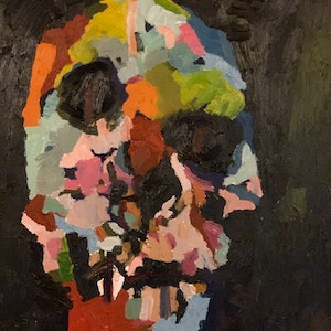 (CreativeWork) broken but here by Jodie Zutt. Oil Paint. Shop online at Bluethumb.