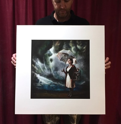 (CreativeWork) 'Storm Carnivale' Limited Edition Fine Art Print  Ed. 1 of 20 by Ross Morgan. Print. Shop online at Bluethumb.