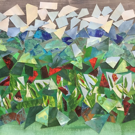 (CreativeWork) Love nature - recycle by Patricia Galloway. Acrylic Paint. Shop online at Bluethumb.