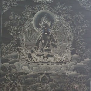 (CreativeWork) Tibetan Thanka(Goddess Black Tara) by Arjun Gurung. #<Filter:0x000055623adf3698>. Shop online at Bluethumb.