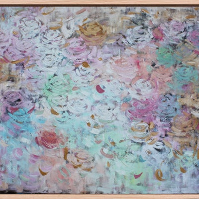 (CreativeWork) A Softer Touch by Belinda Nadwie. Oil Paint. Shop online at Bluethumb.