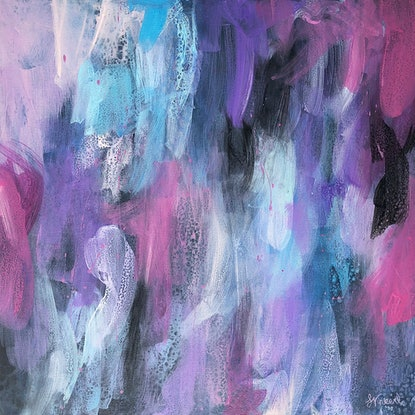 (CreativeWork) Finding Clarity by Sandra Vincent. Acrylic Paint. Shop online at Bluethumb.