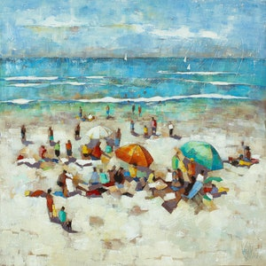 (CreativeWork) 'WEEKEND AT NOOSA' Ed. 4 of 100 by Wendy Wooden. Print. Shop online at Bluethumb.