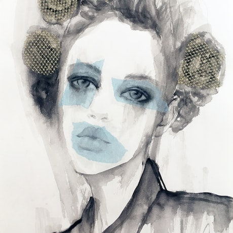 (CreativeWork) Helena by Fiona Maclean. Drawings. Shop online at Bluethumb.