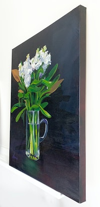 (CreativeWork) Stocks by Amy Herman. Acrylic Paint. Shop online at Bluethumb.