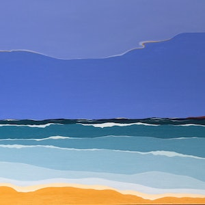 (CreativeWork) Sea and Sky by Marian Quigley. #<Filter:0x000055c8c9f5f388>. Shop online at Bluethumb.