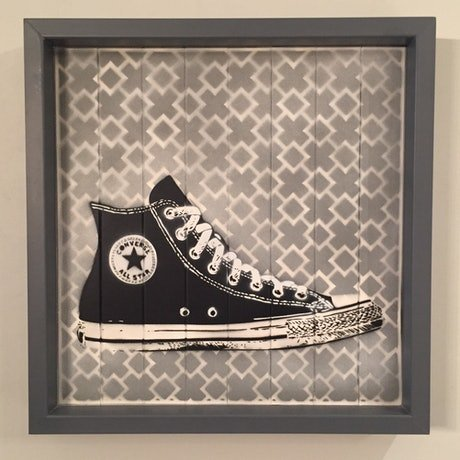 (CreativeWork) The All Star  by Adam Todd. Oil. Shop online at Bluethumb.