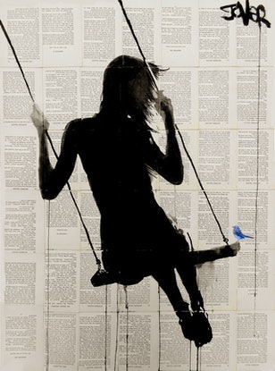 (CreativeWork) MIDWAY by loui jover. Mixed Media. Shop online at Bluethumb.