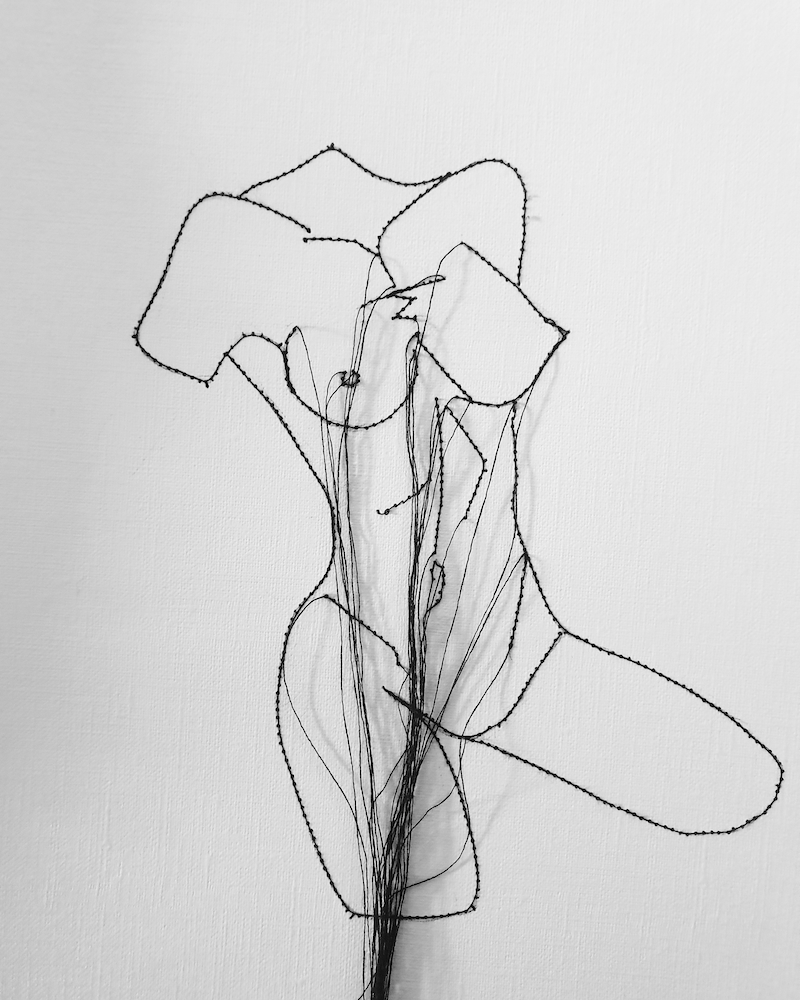 (CreativeWork) Female Form by Jasmine Radakovic. Drawings. Shop online at Bluethumb.
