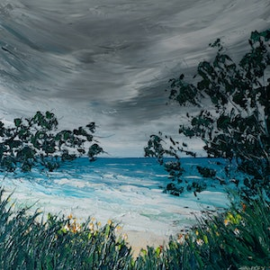 (CreativeWork) Yamba Storm by Angela Hawkey. #<Filter:0x00007fa56615c990>. Shop online at Bluethumb.