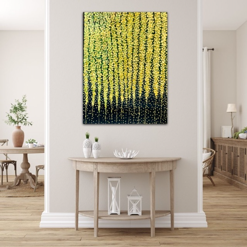(CreativeWork) Weeping Willow  by Theo Papathomas. Oil Paint. Shop online at Bluethumb.