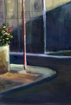 (CreativeWork) DOWN THE PORT by Maureen Finck. Oil Paint. Shop online at Bluethumb.