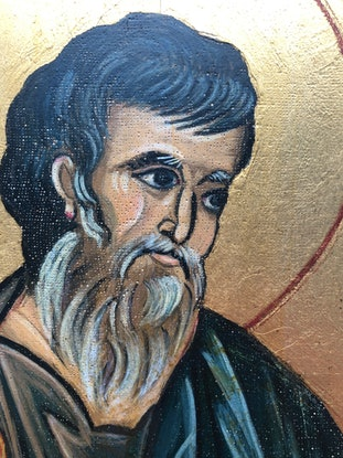 (CreativeWork) St Matthew, Apostle and Evangelist  by Ana Poznanovic. Other Media. Shop online at Bluethumb.