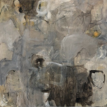 (CreativeWork) What a lot of Bull by Sonia Dickson. Mixed Media. Shop online at Bluethumb.