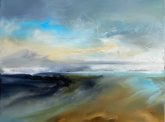 (CreativeWork) Shifting Winds by Joanne Duffy. Oil Paint. Shop online at Bluethumb.