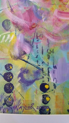 (CreativeWork) A Hint of Spring  by Jan Naylor. Acrylic Paint. Shop online at Bluethumb.