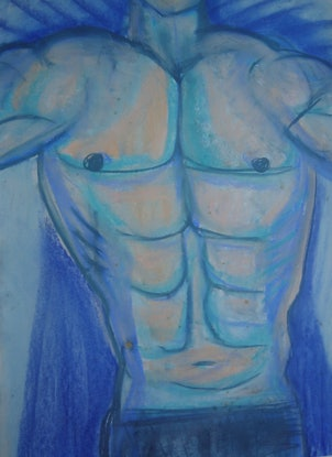 (CreativeWork) THE BODY BUILDER. by Paula Reilly. Drawings. Shop online at Bluethumb.