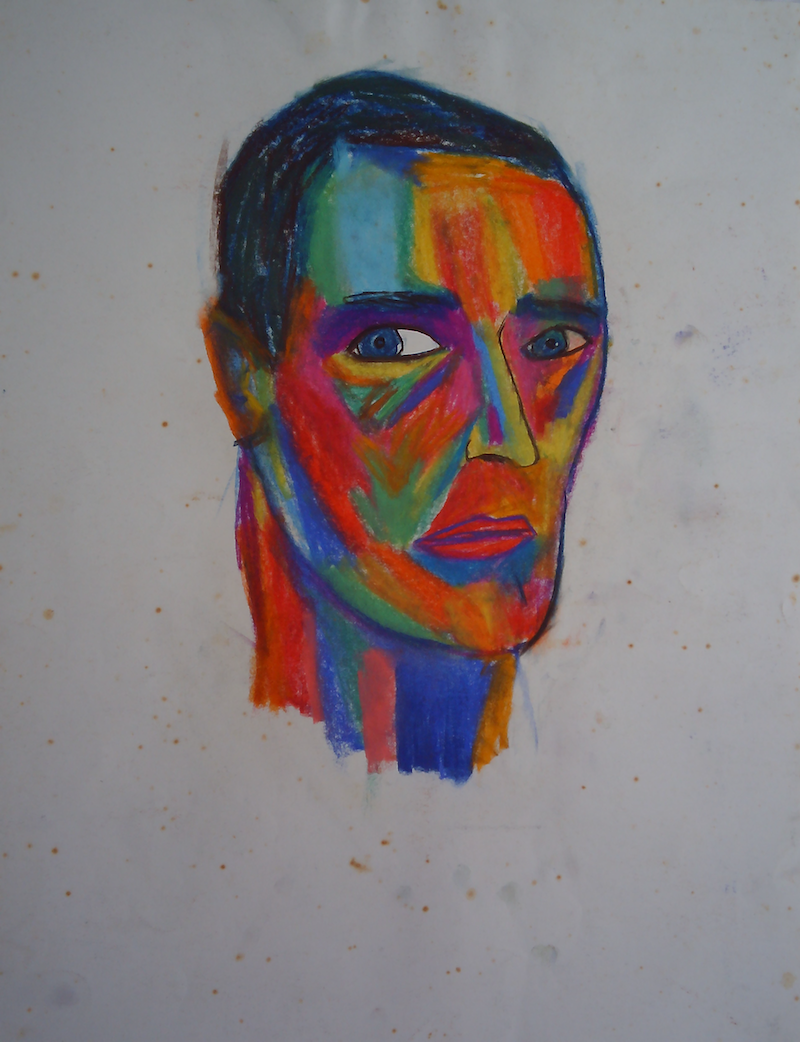 (CreativeWork) COLOUR PORTRAIT ON WHITE. by Paula Reilly. Drawings. Shop online at Bluethumb.