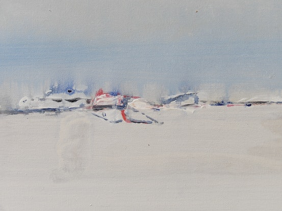 (CreativeWork) Arctic Mist by Peter Marr. Acrylic Paint. Shop online at Bluethumb.