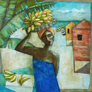 (CreativeWork) 'ISLAND SOJOURN' Ed. 12 of 100 by Wendy Wooden. Print. Shop online at Bluethumb.