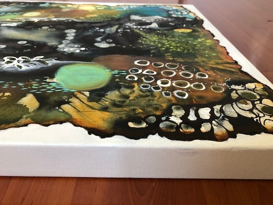 (CreativeWork) Out of the Ashes by Deb Webb. Mixed Media. Shop online at Bluethumb.