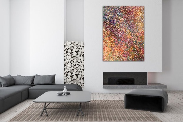 (CreativeWork) Autumn Glory  by Theo Papathomas. Oil Paint. Shop online at Bluethumb.