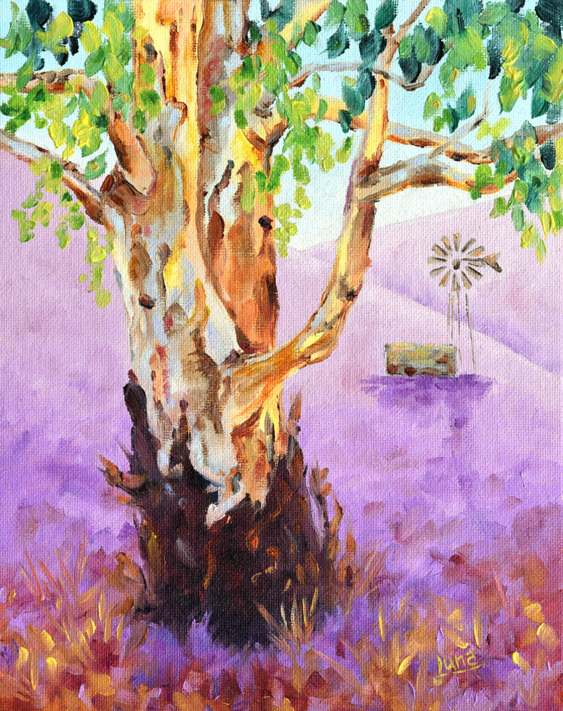 (CreativeWork) Wind Beneath The Gums by Luna Vermeulen. Oil Paint. Shop online at Bluethumb.