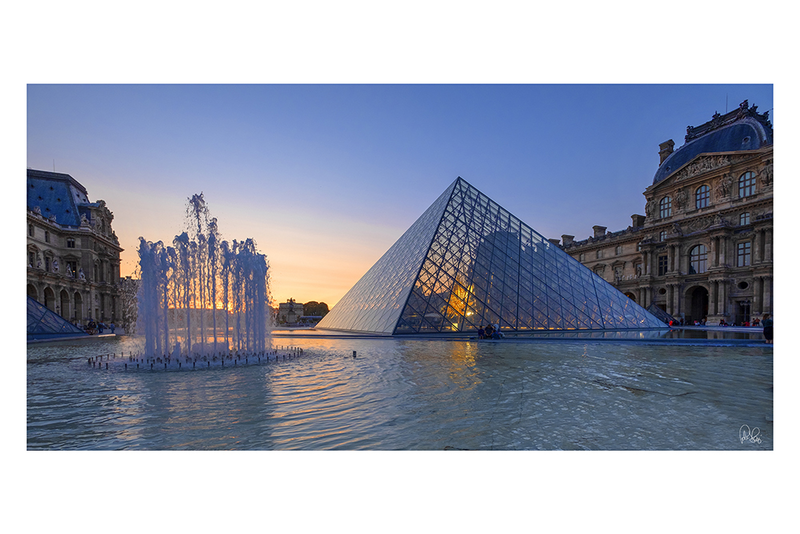 (CreativeWork) P 031 Louvre Paris  by Peter Henning. Photograph. Shop online at Bluethumb.