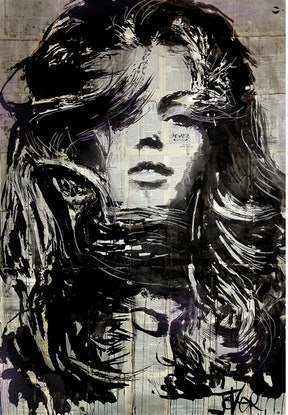 (CreativeWork) BLITZ by loui jover. Mixed Media. Shop online at Bluethumb.