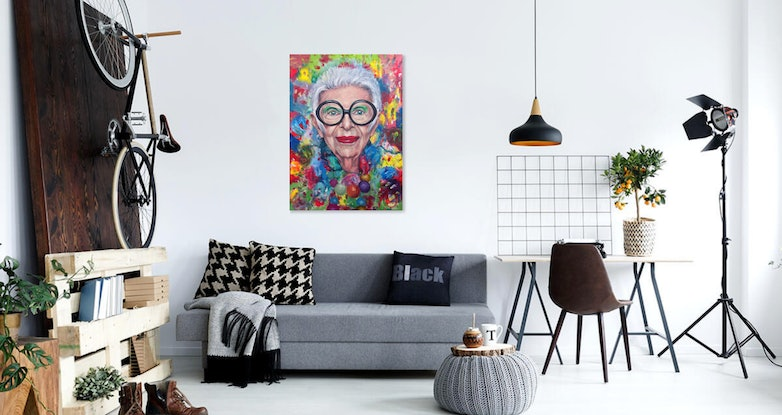 (CreativeWork) 'Makes a Girl Feel Like She Still Has a Chance'  Limited Edition Giclee Fine Art Print      by Tanya Cole. Print. Shop online at Bluethumb.