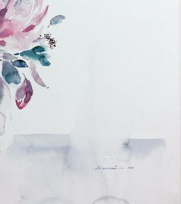 (CreativeWork) Solitude in Solidarity by Fereshteh Pourkazemi. Watercolour Paint. Shop online at Bluethumb.