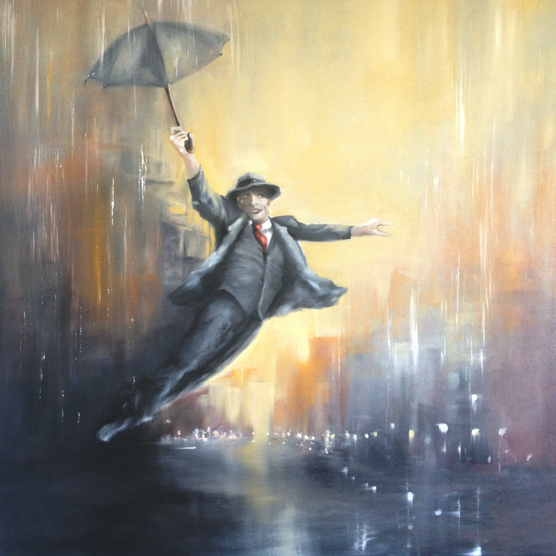 (CreativeWork) A Leap of Faith by Kathryn Johnston. Oil Paint. Shop online at Bluethumb.