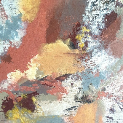 (CreativeWork) Stone & Earth 2 by Ruth Murfet. Acrylic Paint. Shop online at Bluethumb.
