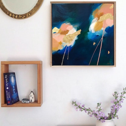 (CreativeWork) Down  By The Sea by Marnie McKnight. Acrylic Paint. Shop online at Bluethumb.