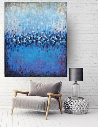(CreativeWork) This Great Land by Belinda Nadwie. Oil Paint. Shop online at Bluethumb.