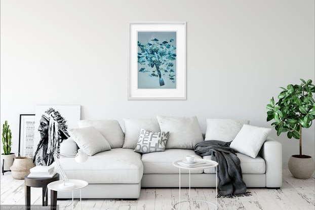 (CreativeWork) Ltd Ed print (A1) - Depth Ed. 1 of 80 by Candace Slager. Print. Shop online at Bluethumb.