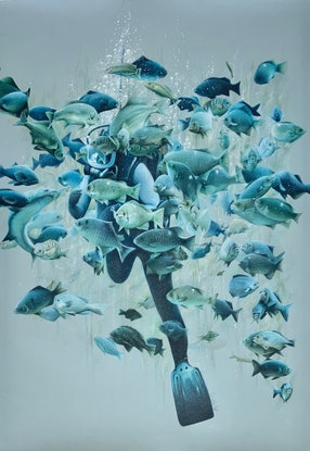(CreativeWork) Ltd Ed print (A2) - Depth Ed. 1 of 20 by Candace Slager. Print. Shop online at Bluethumb.