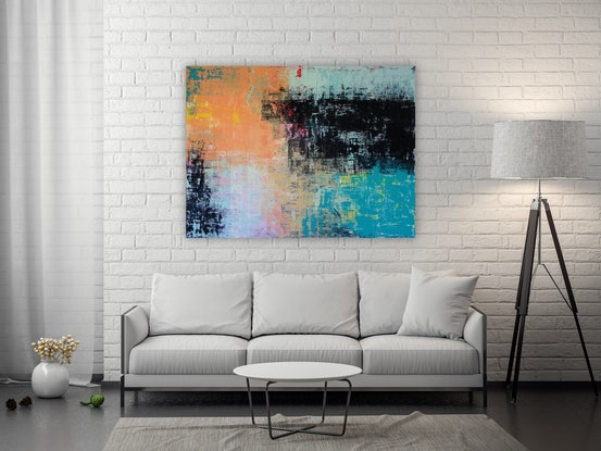 (CreativeWork) Memories by Kylie Sams. Acrylic Paint. Shop online at Bluethumb.