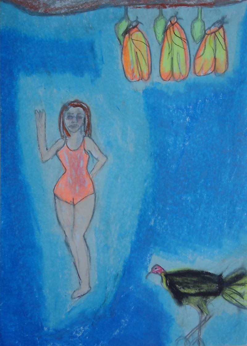(CreativeWork) CHRYSALIC BLESSINGS. by Paula Reilly. Drawings. Shop online at Bluethumb.