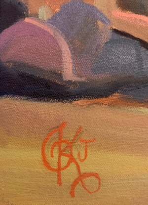 (CreativeWork) A Road Less Travelled by Kadira Jennings. Oil Paint. Shop online at Bluethumb.