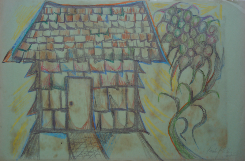 (CreativeWork) HOME IS WHERE MY HEART IS. by Paula Reilly. Drawings. Shop online at Bluethumb.