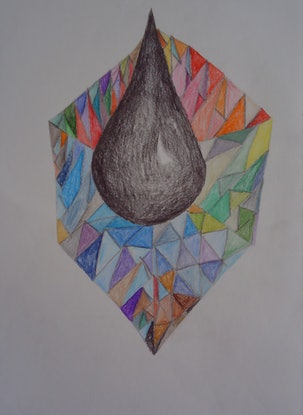 (CreativeWork) TEAR OF SPADES. by Paula Reilly. Drawings. Shop online at Bluethumb.