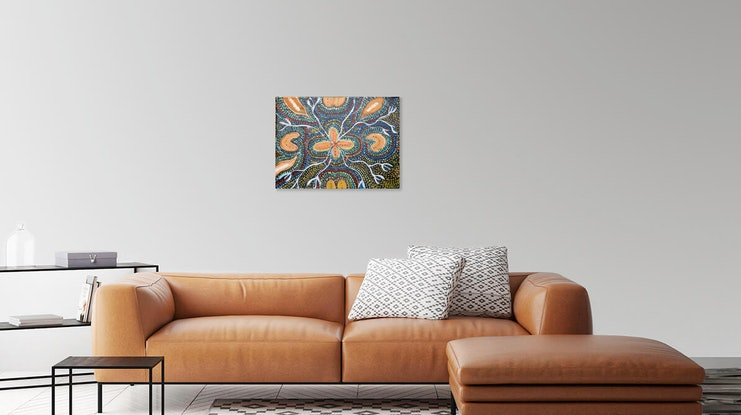 (CreativeWork) MY MOTHERS COUNTRY  The Indigenous Peoples of the Darling Downs Ed. 1 of 50 by Cynthia Farr BARUNGGUM. Print. Shop online at Bluethumb.