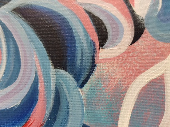 (CreativeWork) Share the joy by Kate Wise. Acrylic Paint. Shop online at Bluethumb.